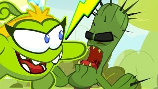 Om Nom Stories -  CACTUS ATTACK | Cut The Rope | Funny Cartoons For Kids | Kids Videos