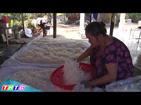 Xóm mứt dừa xã Hòa Khánh, Cái Bè vào mùa Tết