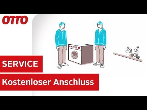 Kostenloser Anschluss für Waschmaschinen & Geschirrspüler | Installation & Aufbau | Service bei OTTO