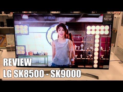 Review LG SK8500 - SK9000 Nueva Television 4K UHD HDR Smart TV 2018