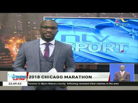 2018 Chicago marathon:  Mo Farah and Brigid Kosgei clock personal bests to win