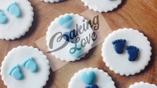 Baby Boy Cupcake Toppers