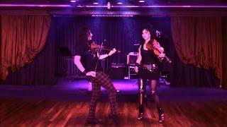 Modernes Show-Violinenduo DANCING VIOLINS video preview