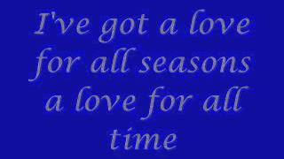 Christina Aguilera - Love For Αll Seasons - Lyrics