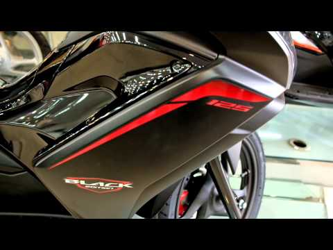 2015 Honda Air Blade 125 Black Edition - Top Speed