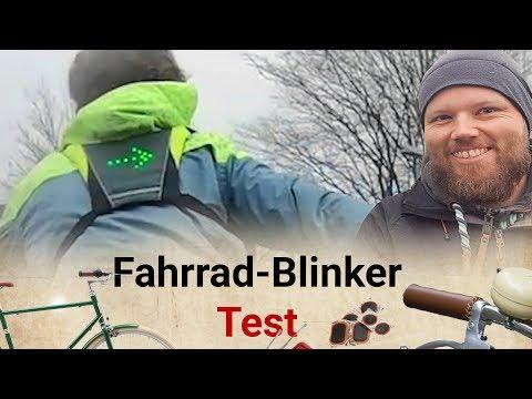 Fahrradblinker / LED-Warnweste im Test