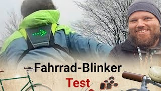 LED-Blinkerweste im Test: Was taugt der Fahrradblinker?