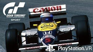 PSVR F1 Nigel Mansell Lap 1986  [GT Sport]