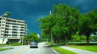 Иду на Грозу Черные Тучи - Потрясающий Закат FloridaYalta 06.07.2015