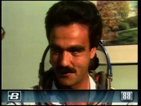 Подготовка к советско-афганскому космическому полёту 11.08.1988