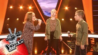 Eva, Elisabeth & Nathan   'Feel It Still' | The Battles | The Voice Kids | VTM