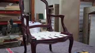 Ralph M. - Fabrication de canapés et fauteuils Made in France - vidéo