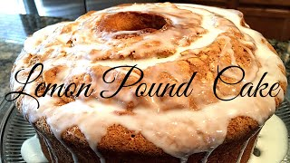 pound cake with yellow cake mix and sour cream