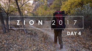Zion Fall 2017: (Day 4) Landscape Photography In Zion National Park