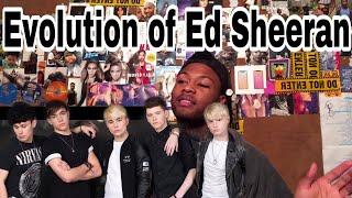 Roadtrip - Evolution of Ed Sheeran | Reaction