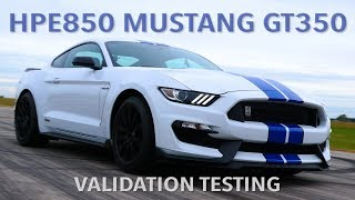 Hennessey GT350 Faster Than 2020 GT500 Mustang??