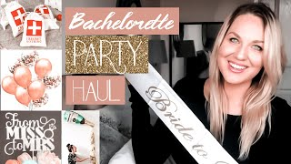 Bachelorette Party Haul! Decorations, Gifts, Ideas, Games