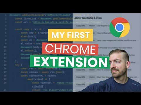 I Built My First Google Chrome Extension!