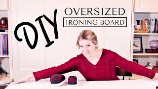 DIY Large Ironing Board - Easy & Fast Tutorial
