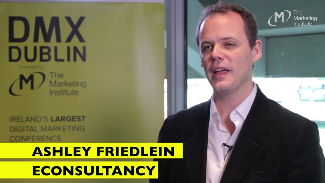Ashley Friedlein, Econsultancy - Interview @ DMX Dublin 2016