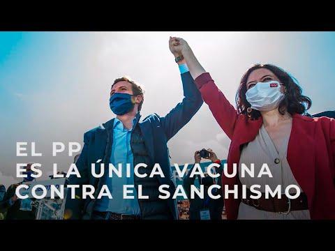 Somos la única vacuna contra el sanchismo