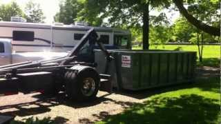 American Palfinger my New Hooklift Hook truck and how I operate it