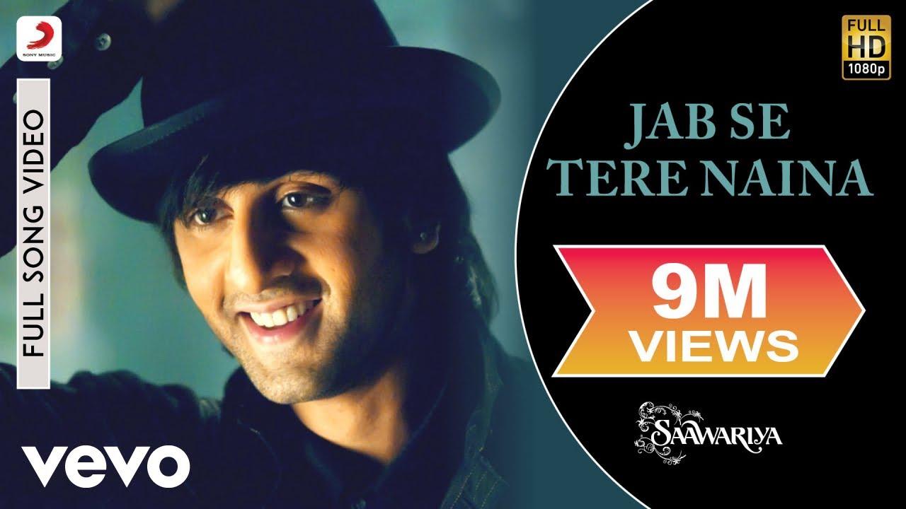 Jab Se Tere Naina Song Lyrics Hindi