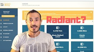 Radiant Upgrades su Genesis Mining