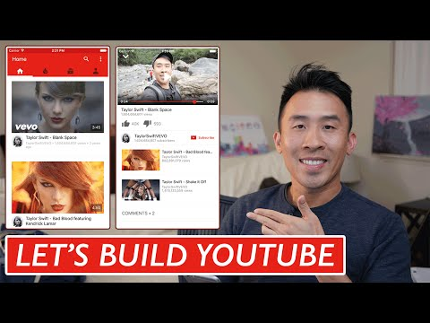 Swift: Lets Build YouTube – Home Feed: UICollectionView, AutoLayout (Ep 1)