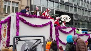 preview picture of video 'Carnaval in Frankfurt-Februarie 2018'
