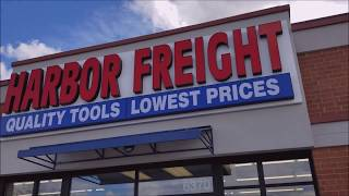 Checking Out The NEW Harbor Freight Store!
