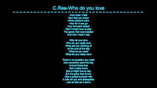 Chris Rea-Who do you love