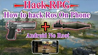rules of survival hack android no root