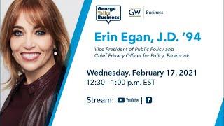 video - George Talks Business with Erin Egan