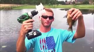 Пьяные на рыбалке!!!Лучшие приколы на рыбалке!Подборка приколов!