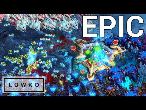 StarCraft 2: The Epic Late Game!