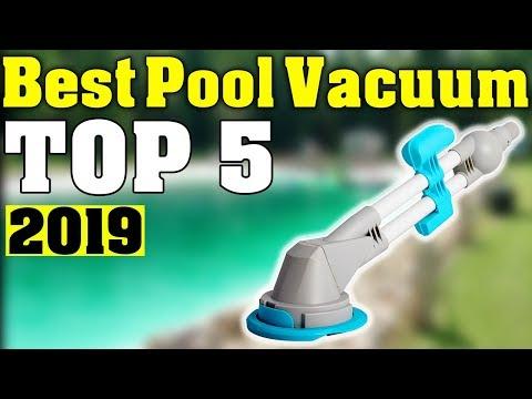 TOP 5: Best Pool Vacuum Cleaners 2019