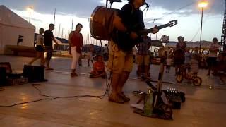 Jimmy Jimmy in Mali Lošinj Blowin in the wind