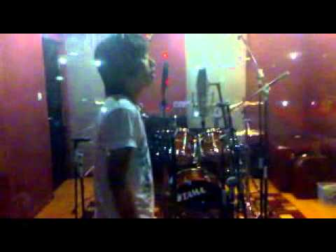 Recording session of Langit (Studio Version) - Rudye
