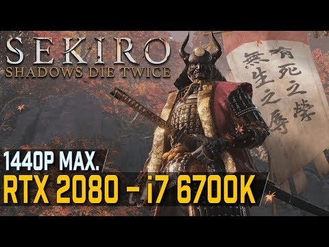 Sekiro Shadows Die Twice 4K Maxed RTX 2080 TI Frame Rate Performance