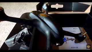 Hubsan X4 Air H501A Unboxing NEW