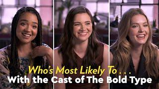 Le cast parle de ce qu'elles aiment