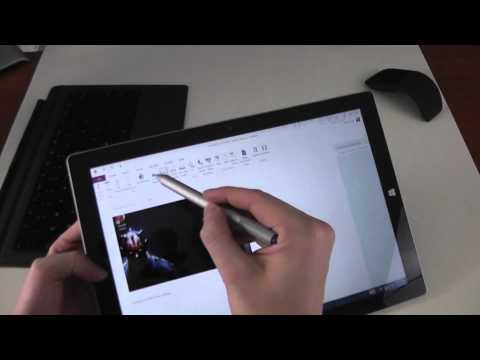 Surface Pro 3 Review - The Tablet and Pen