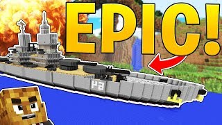 Op Build Your Own Ship In Minecraft Sea Of Thieves In Minecraft