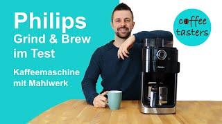 Philips Grind and Brew [HD 7769/00] Kaffeemaschine mit Mahlwerk - Test & Erfahrungsbericht 2020