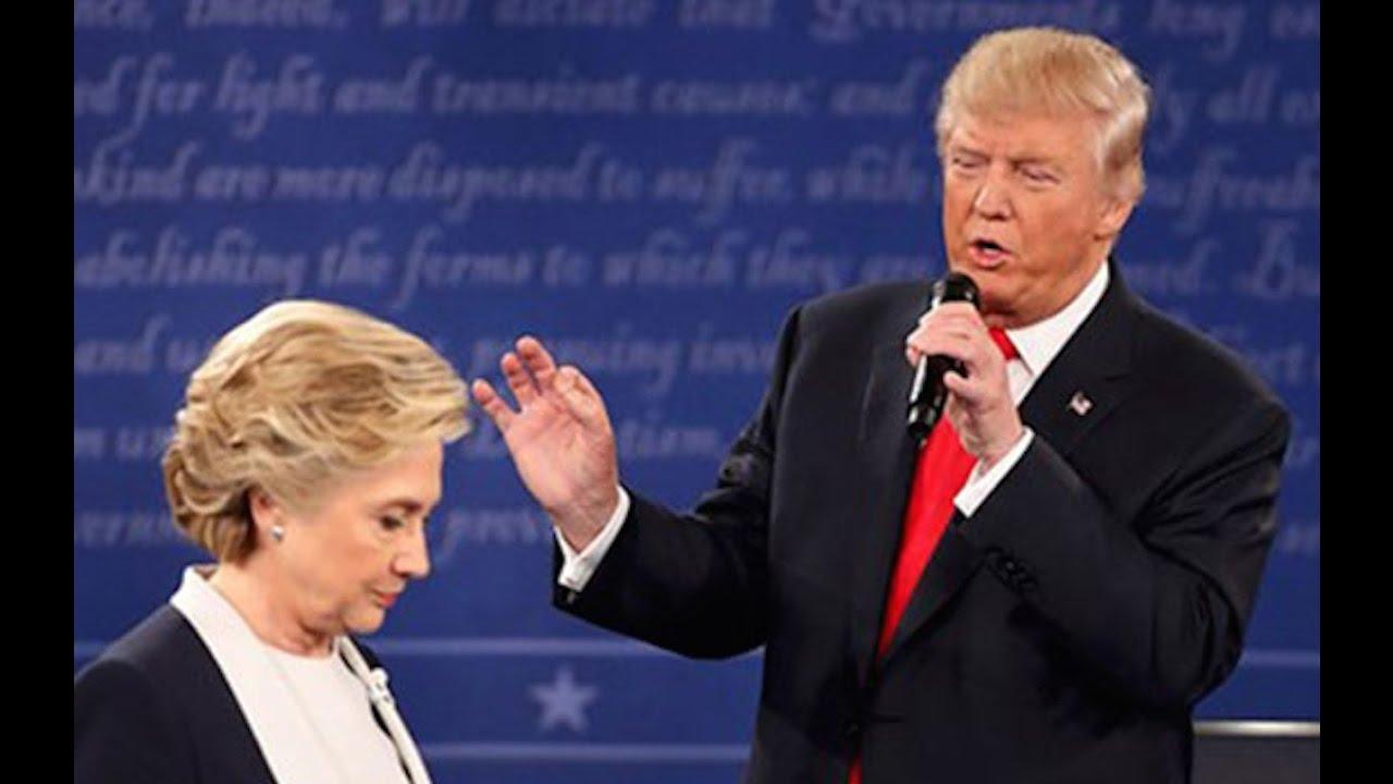 Trump Thinks Hillary Is Doping To Win Debates thumbnail