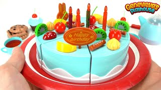 Lets Make Our Own Toy Birthday Cake!