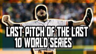 MLB: Last Plays of the Last 10 World Series (HD)