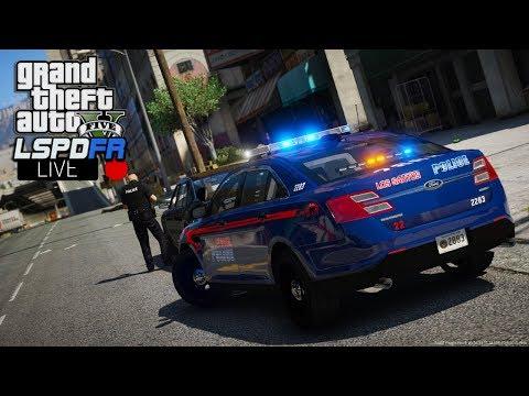 Police Computer on a Tablet! GTA 5 LSPDFR CITY PATROL   GTA V
