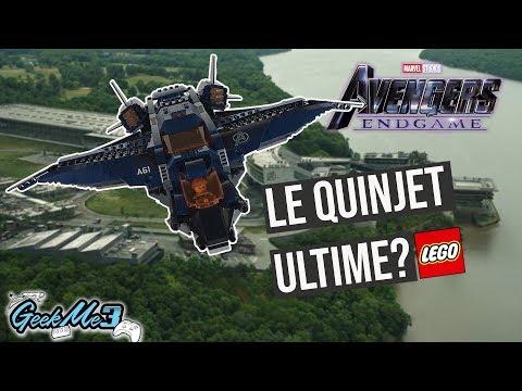 Vidéo LEGO Marvel Super Heroes 76126 : Le Quinjet des Avengers